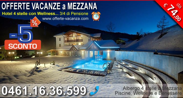 Hotel Salvadori Mezzana: sconto 5%
