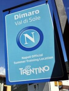 Dimaro ritiro pre-campionato SSC Napoli