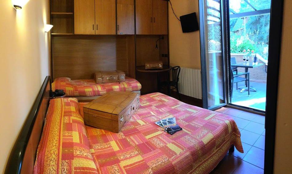 Albergo il Picchio - Una camera