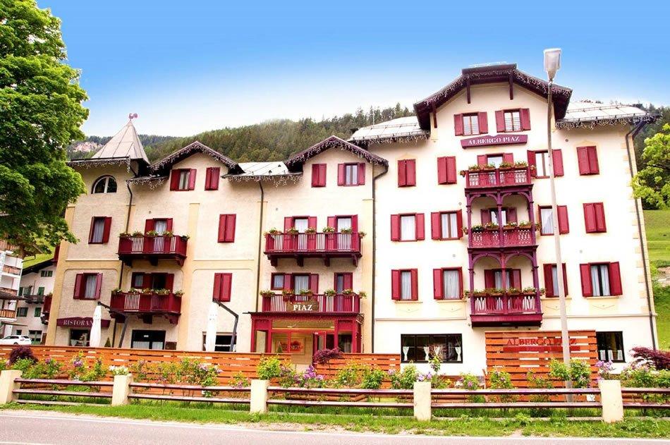Hotel Piaz (blu) Pozza di Fassa