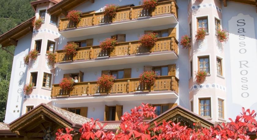 Hotel Sasso Rosso - Esterno struttura