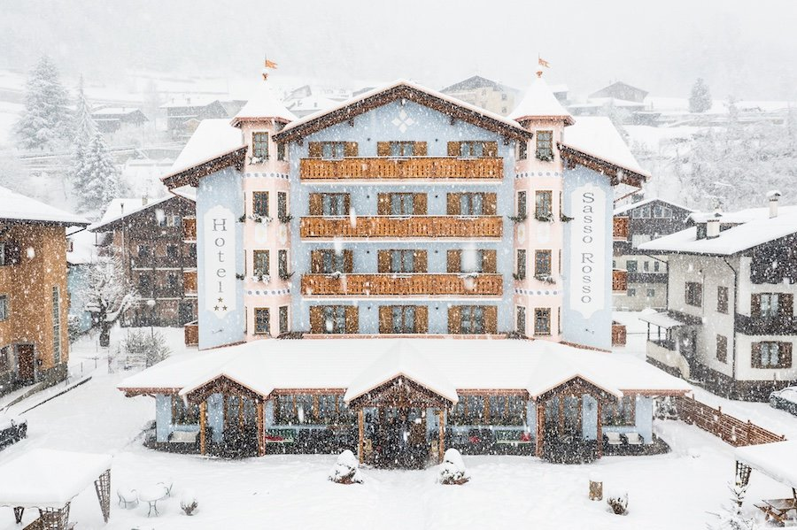 Hotel Sasso Rosso Commezzadura