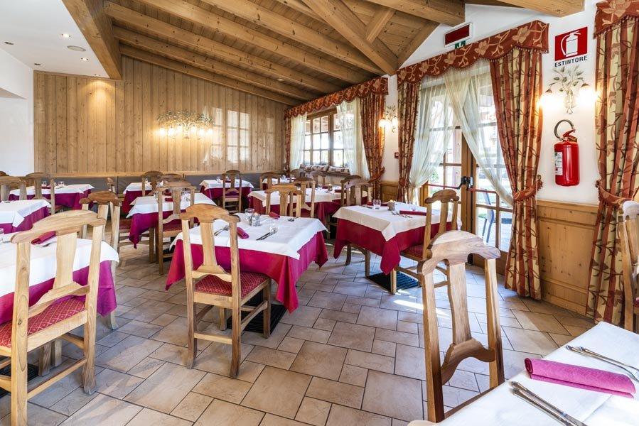 Hotel Sasso Rosso - Ristorante