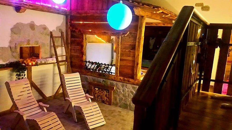 Rifugio Orso Bruno - Area relax